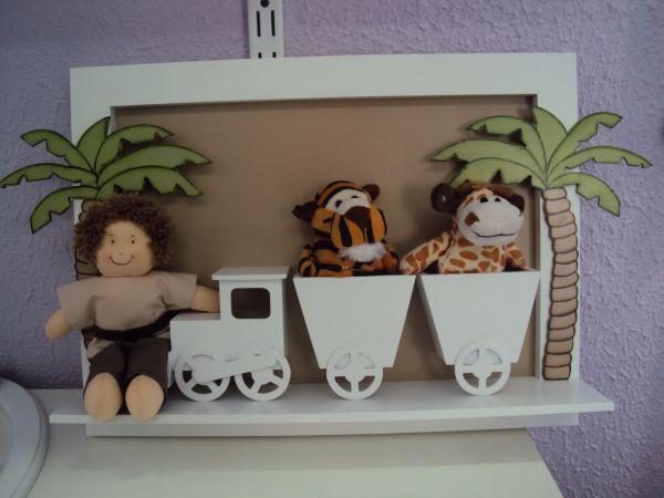 Enfeite Para Quarto De Bebe Safari ~ QUADRO SAFARI  Loja de Marli Artes quarto de Bebe